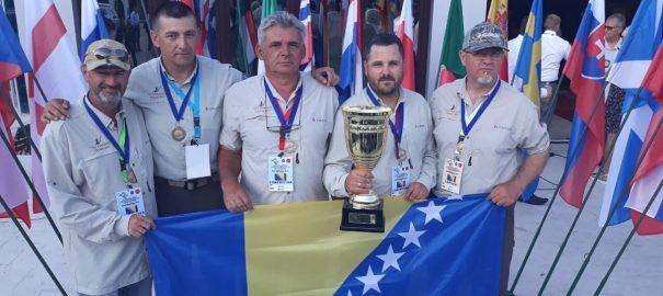 Reprezentacija BiH osvojila 3. mjesto na Evropskom prvenstvu u mušičarenju!